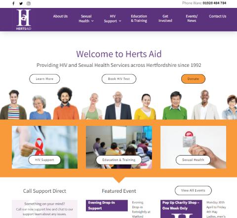 portfolio Herts Aid