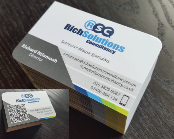 Portfolio. RSC business cards