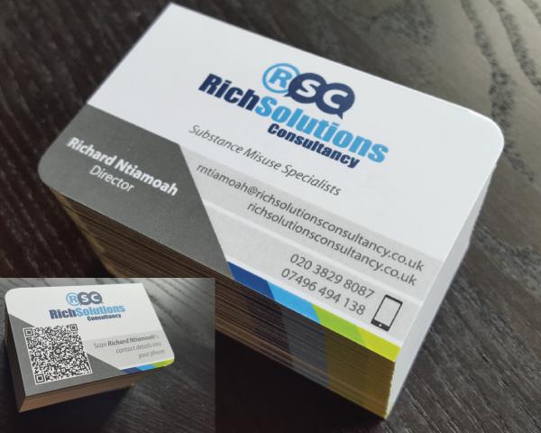 Portfolio. RSC business cards