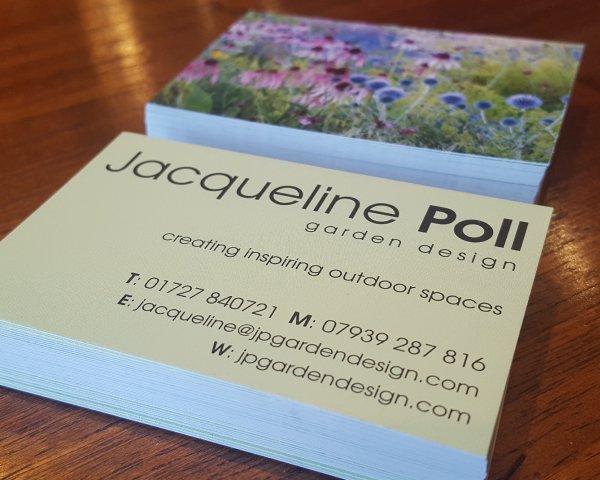 Portfolio. Jacqueline Poll business cards